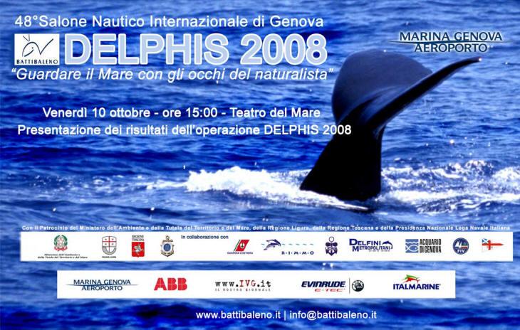 locandina delphis 2008