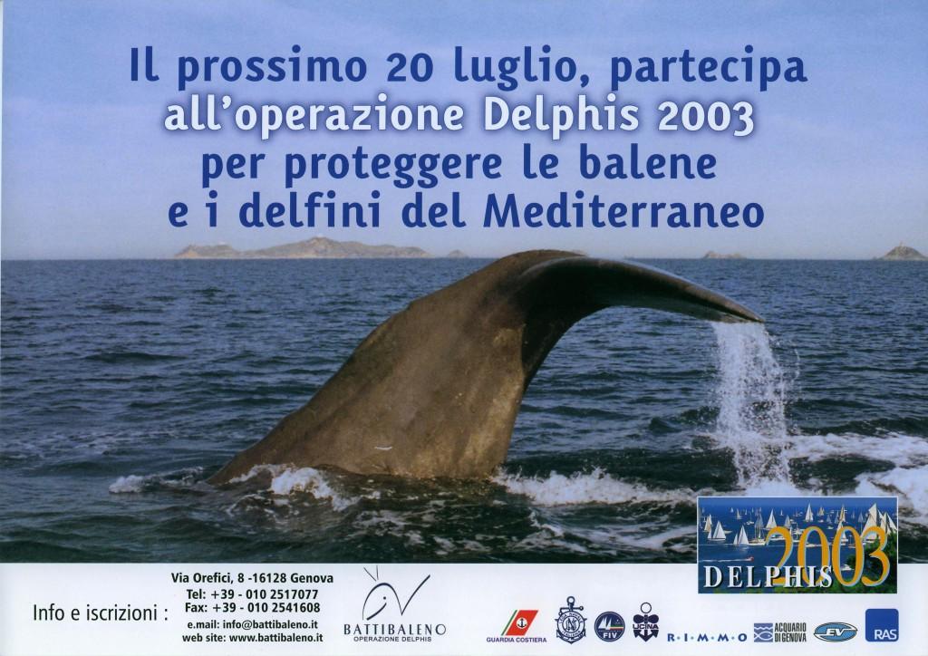 locandina Delphis 2003