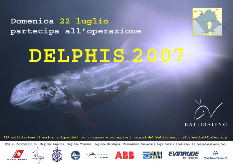 DEPLIANT OPERAZIONE DELPHIS 2007